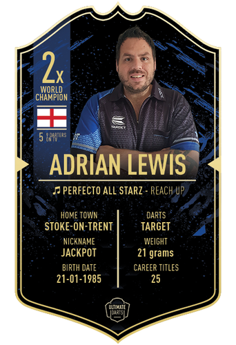 Ultimate Darts Adrian Lewis