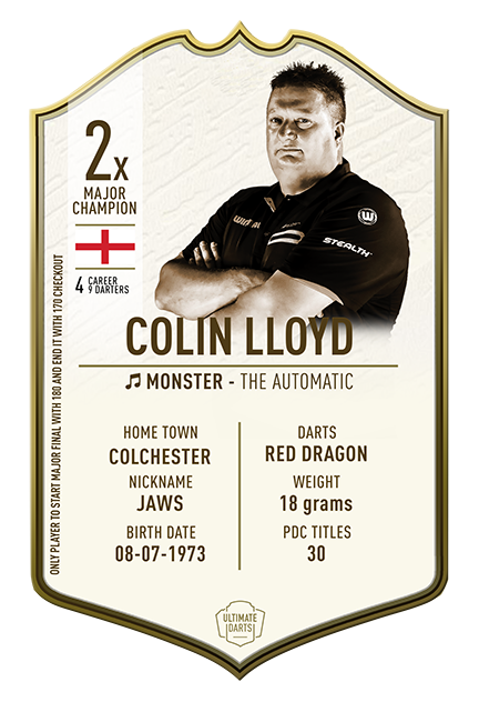Ultimate Darts Collin Lloyd