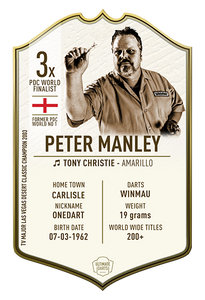 Ultimate Darts Peter Manley