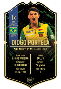 Ultimate Darts Diogo Portela