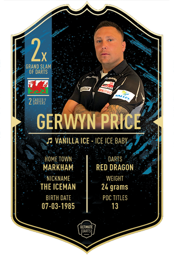 Ultimate Darts Gerwyn Price