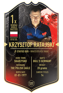 Ultimate Darts Ratasjki
