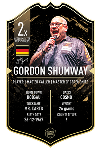 Ultimate Darts Gordon Shumway