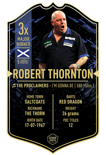 Ultimate Darts Robert Thornton