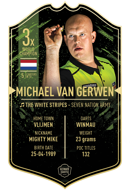 Ultimate Darts Michael van Gerwen