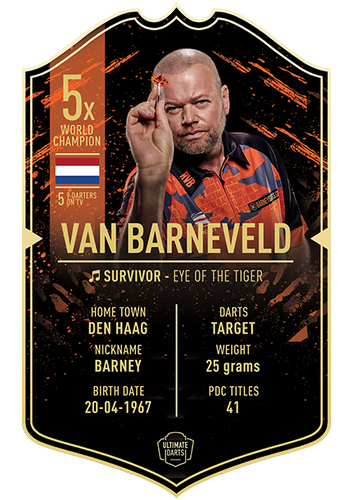 Ultimate Darts Raymon van Barneveld