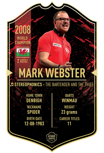 Ultimate Darts Mark Webster