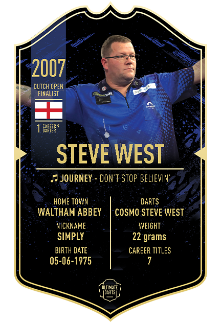 Ultimate Darts Steve West