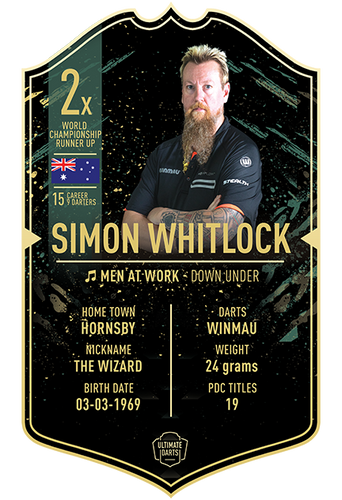 Ultimate Darts Simon Whitlock
