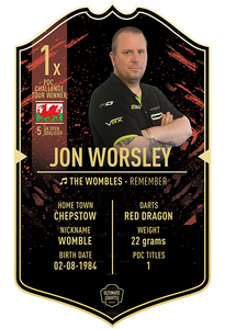 Ultimate Darts Jon Worsley