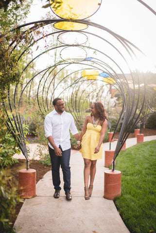 Gateway Gardens Engagement Session - Jordan Tickle