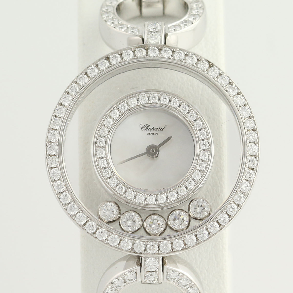 Chopard Happy Diamonds Ladies Watch 3.48ctw