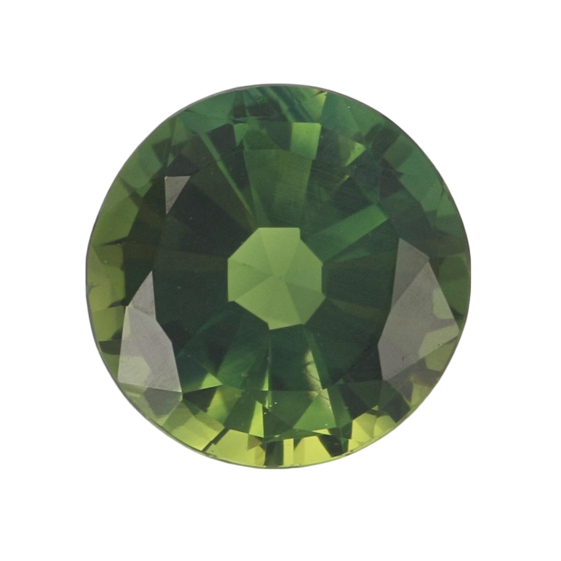3.24ct Loose Green Sapphire Round