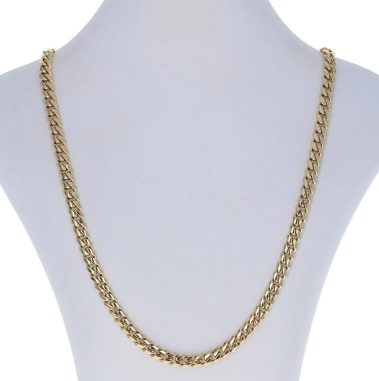 Cuban Curb Chain Necklace 26 1/2""