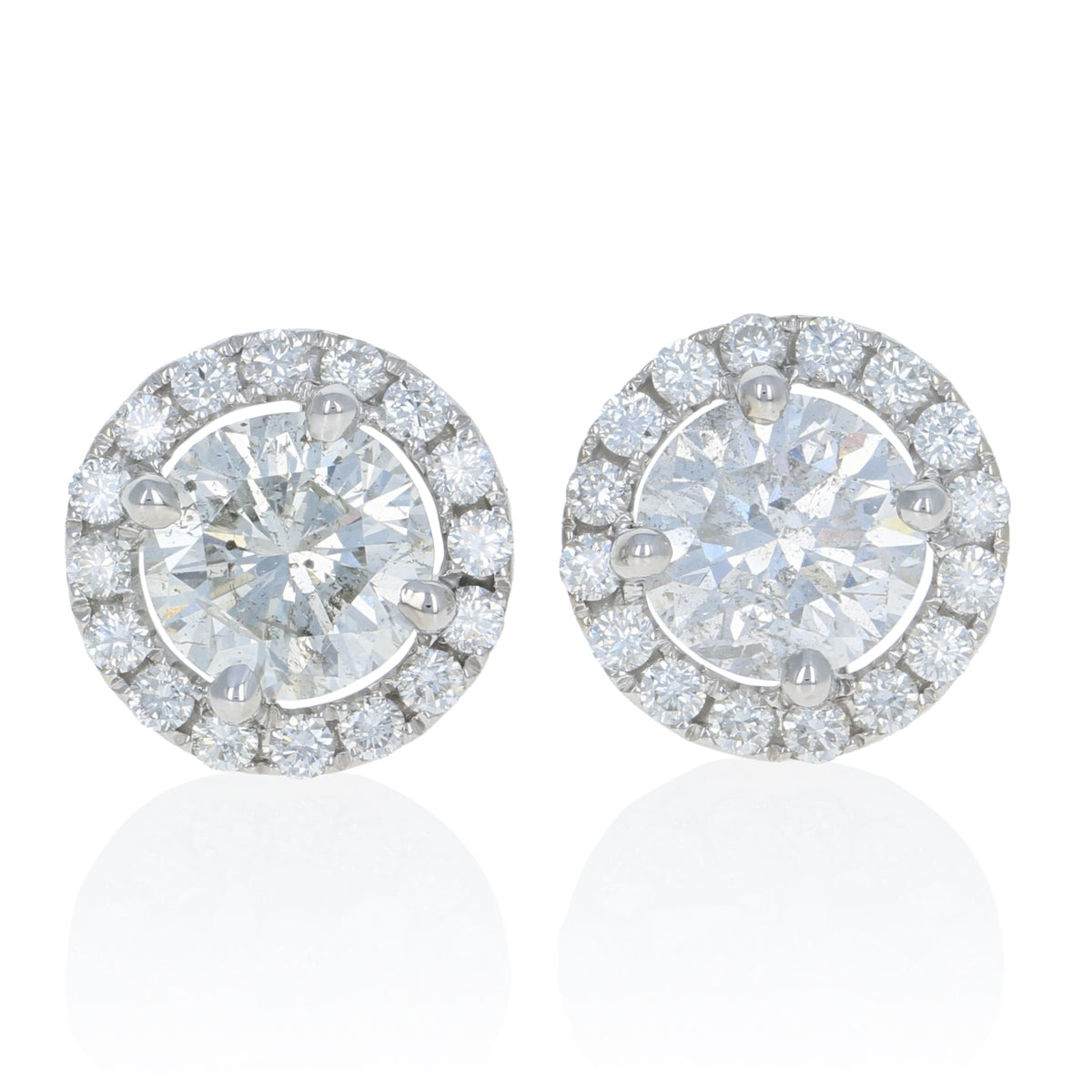 Diamond Earrings 2.62ctw