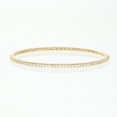 Diamond Bangle Bracelet  2.83ctw