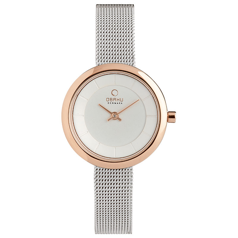 Obaku STILLE Rose BI Ladies Watch V146LXVIMC