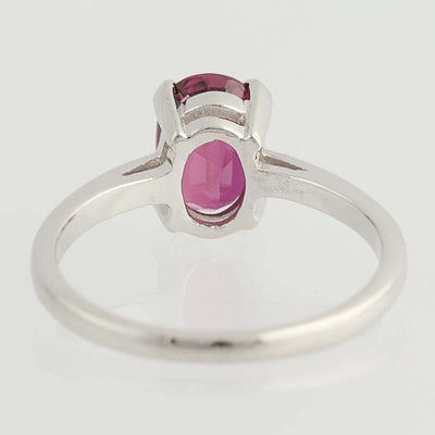 Ruby Solitaire Ring  1.38ctw