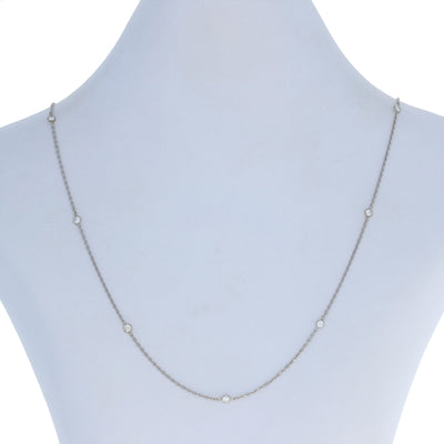 .61ctw Diamond Necklace 18 3/4""