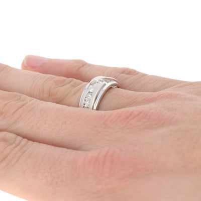 1.00ctw Men's Wedding Band