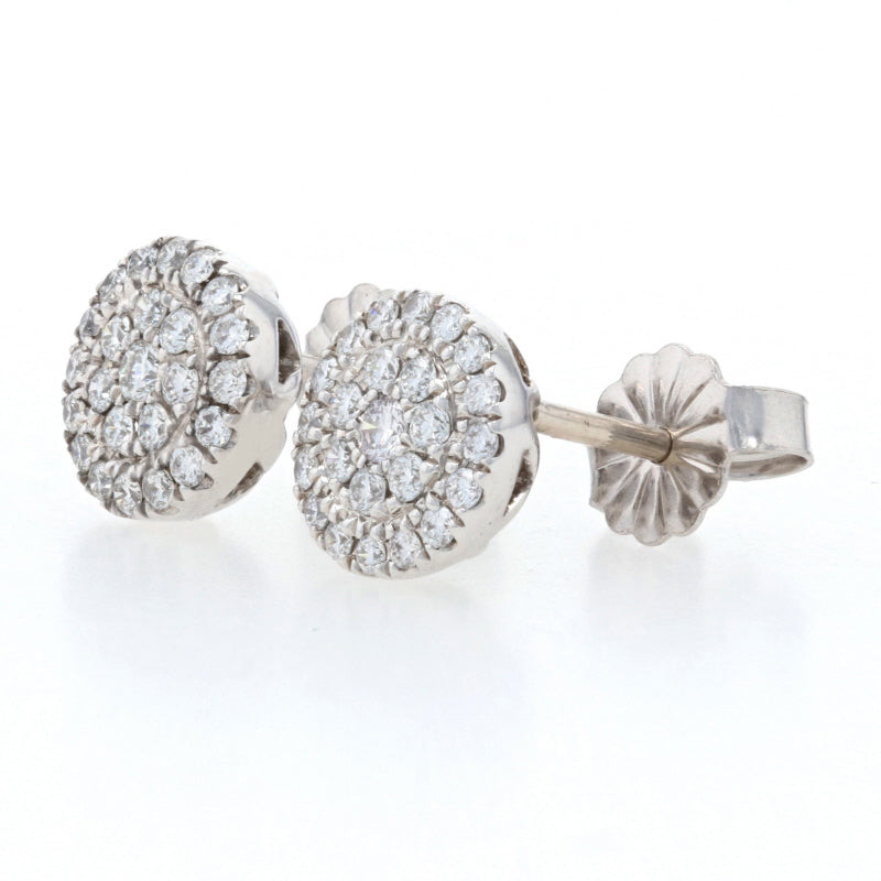 .38ctw Diamond Earrings White Gold