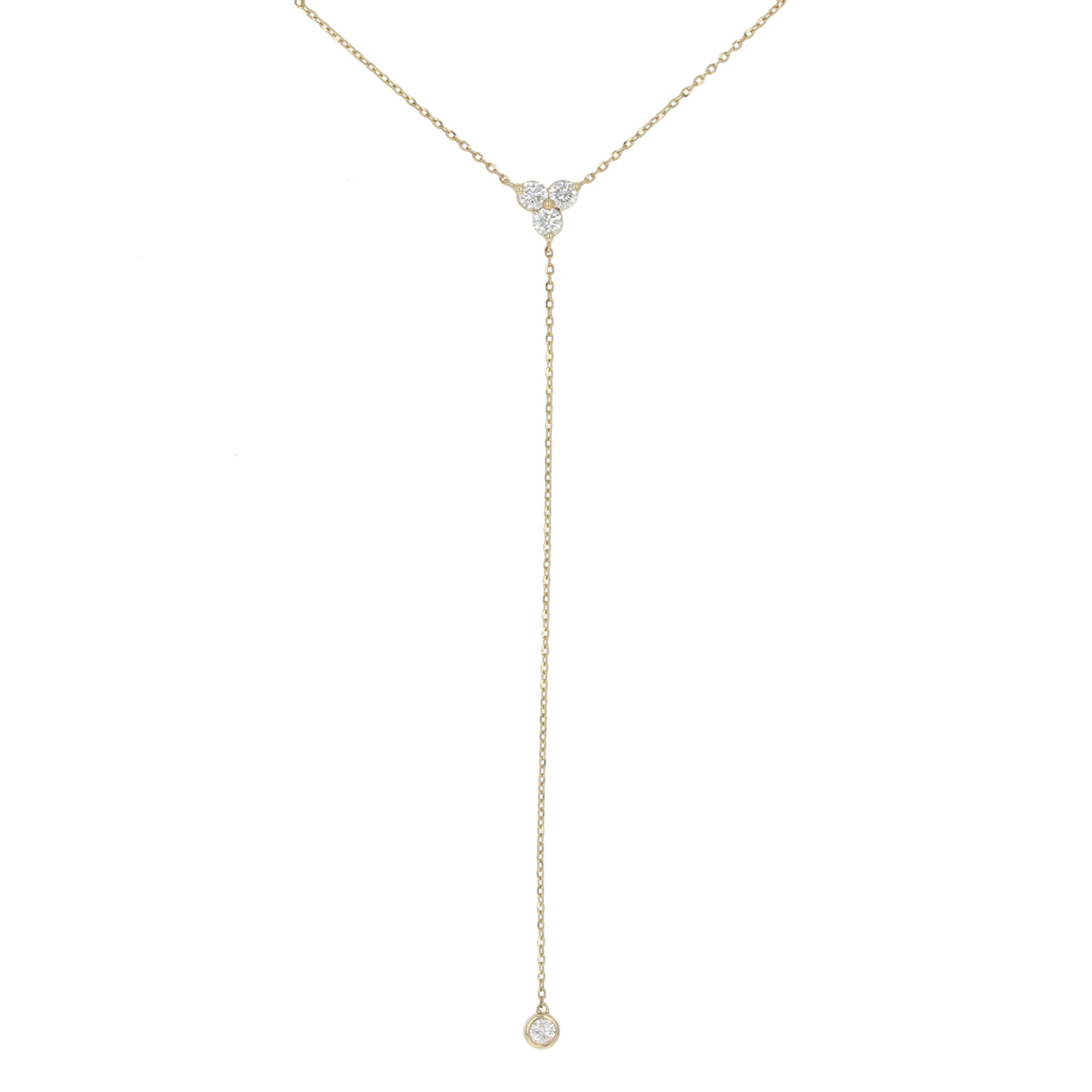 Diamond Lariat Necklace .36ctw