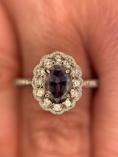 .62ct Alexandrite & Diamond Ring