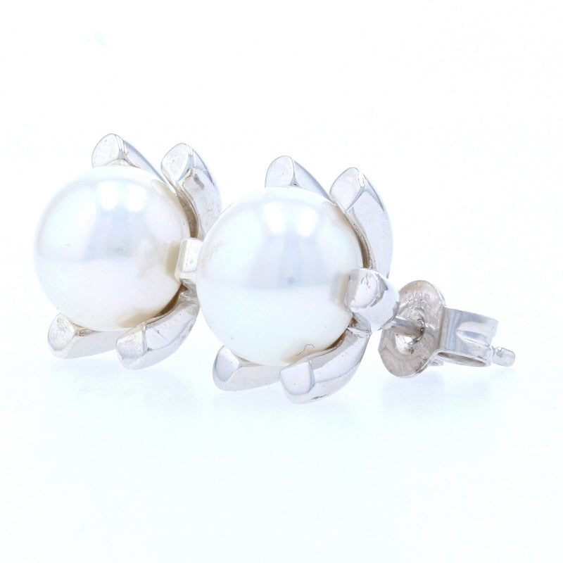 Bastian Inverun Cultured Pearl Earrings Sterling Silver