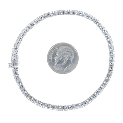 8.93ctw Diamond Bracelet White Gold