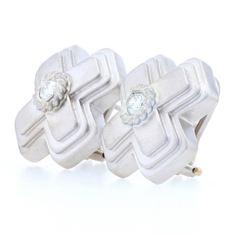 .32ctw Diamond Earrings White Gold