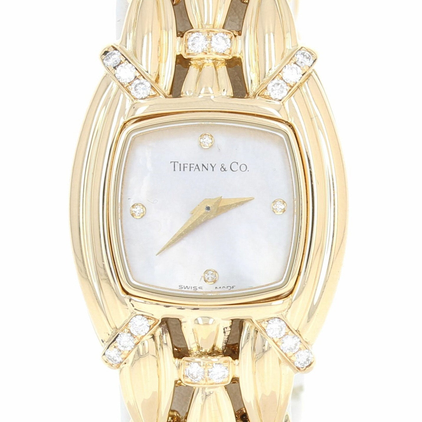 Tiffany & Co. Ladies Diamond Quartz Watch