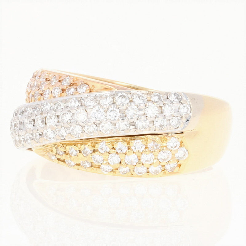 1.05ctw Diamond Ring Yellow Gold