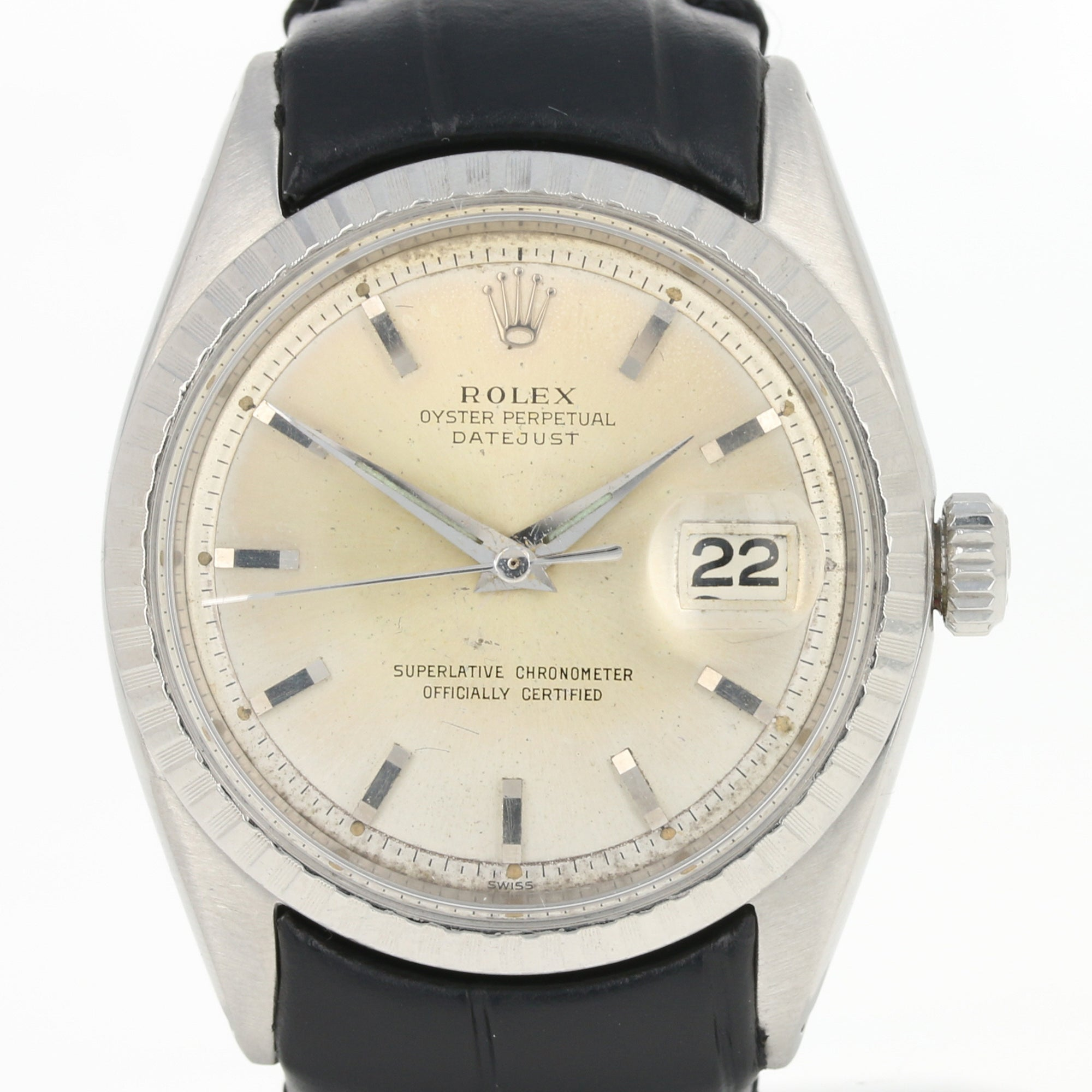 Rolex Oyster Perpetual Datejust Men's Watch Stainless Steel 1603