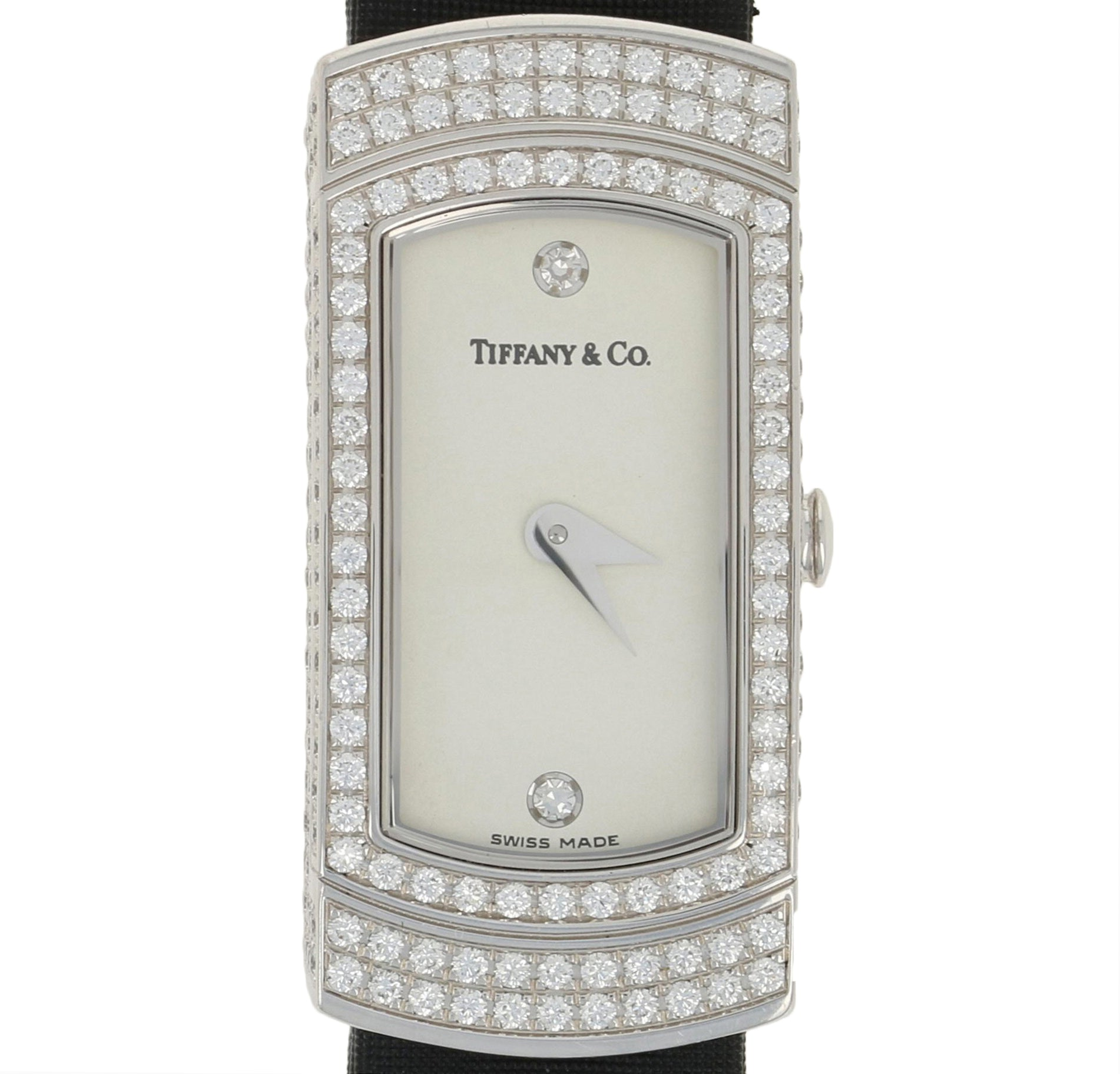 Tiffany & Co. Diamond Ladies Quartz Watch