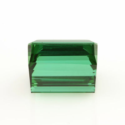 14.54ct Loose Rich Forest Green Tourmaline Square