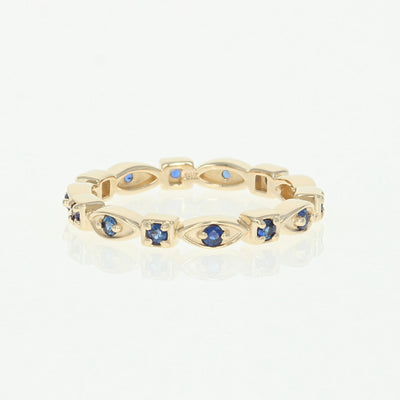 Sapphire Eternity Band .38ctw