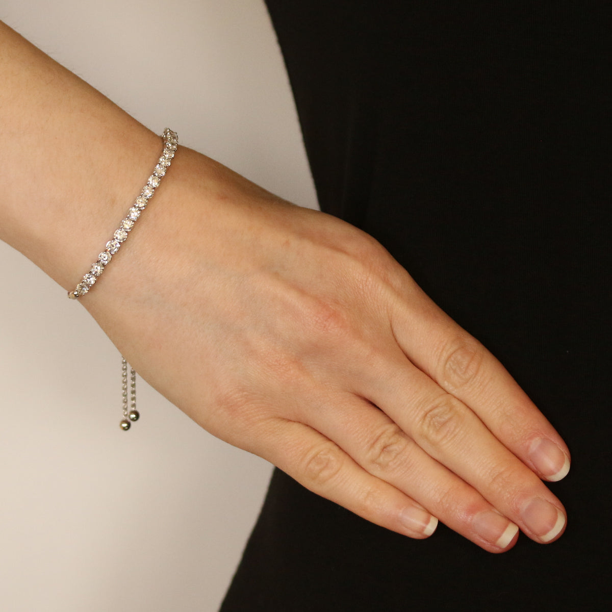 3.30ctw Diamond Bracelet White Gold