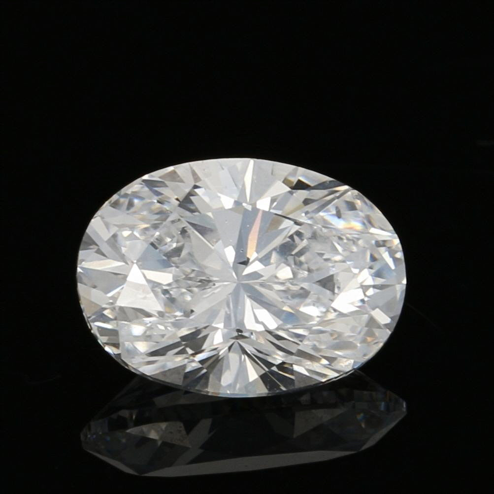 1.52ct Loose Diamond Oval Brilliant GIA