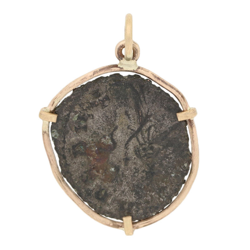 Ancient Roman Gallienus Coin Pendant