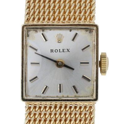 Rolex 1950s Ladies Watch Yellow Gold Mechanical 1400 2Yr Warranty