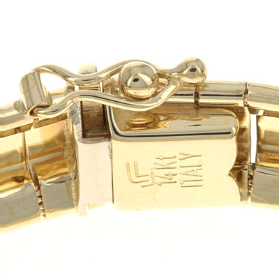 Omega Chain Bracelet Yellow Gold