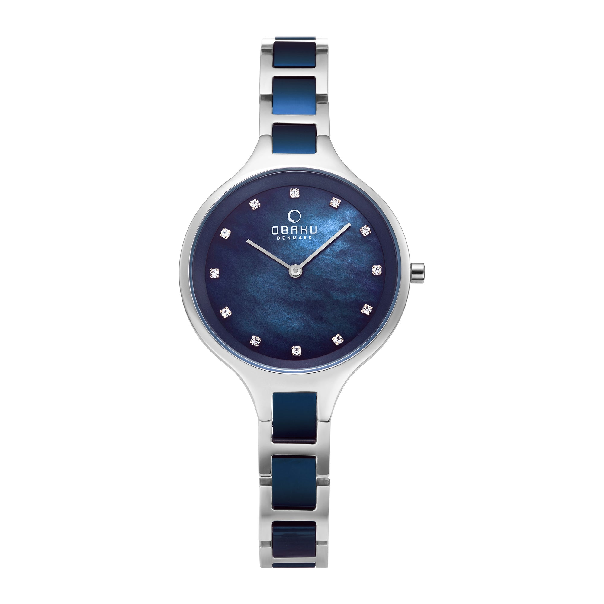 Obaku Iris Blue Steel Ladies Watch  V218LXCLSL