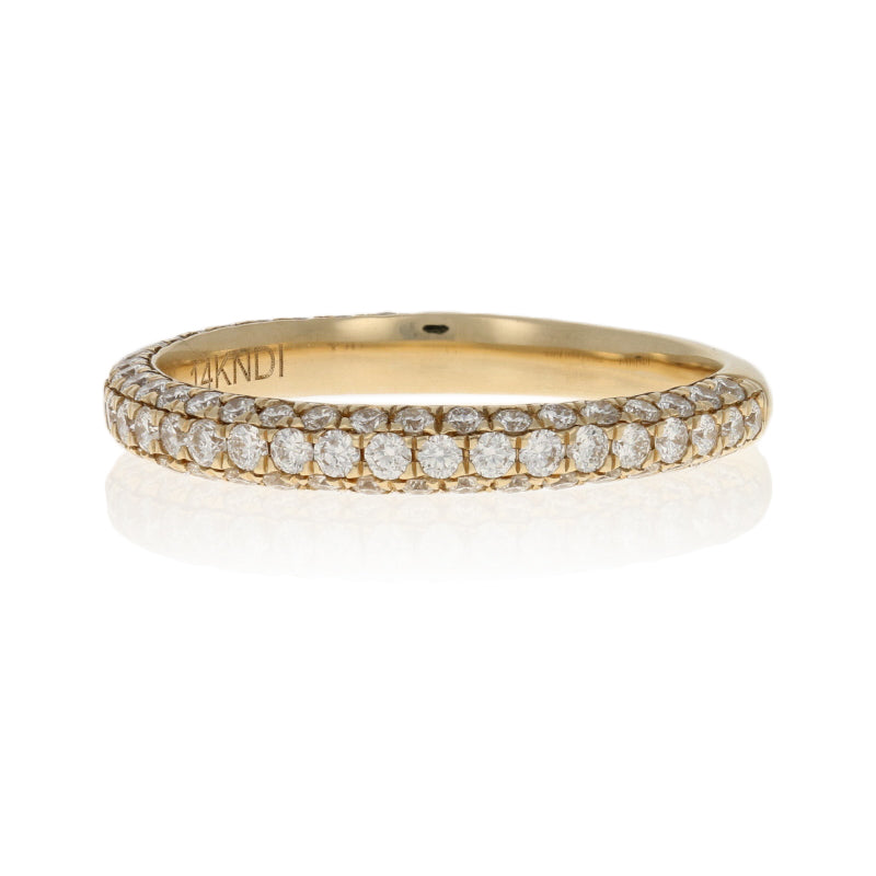 .75ctw Diamond Ring Yellow Gold