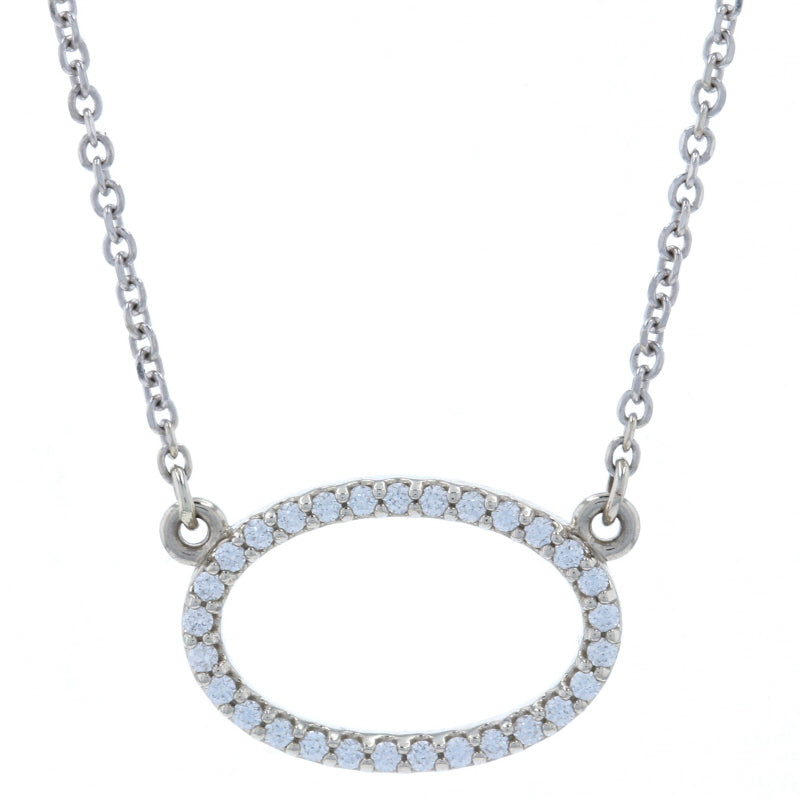 .12ctw Diamond Necklace White Gold