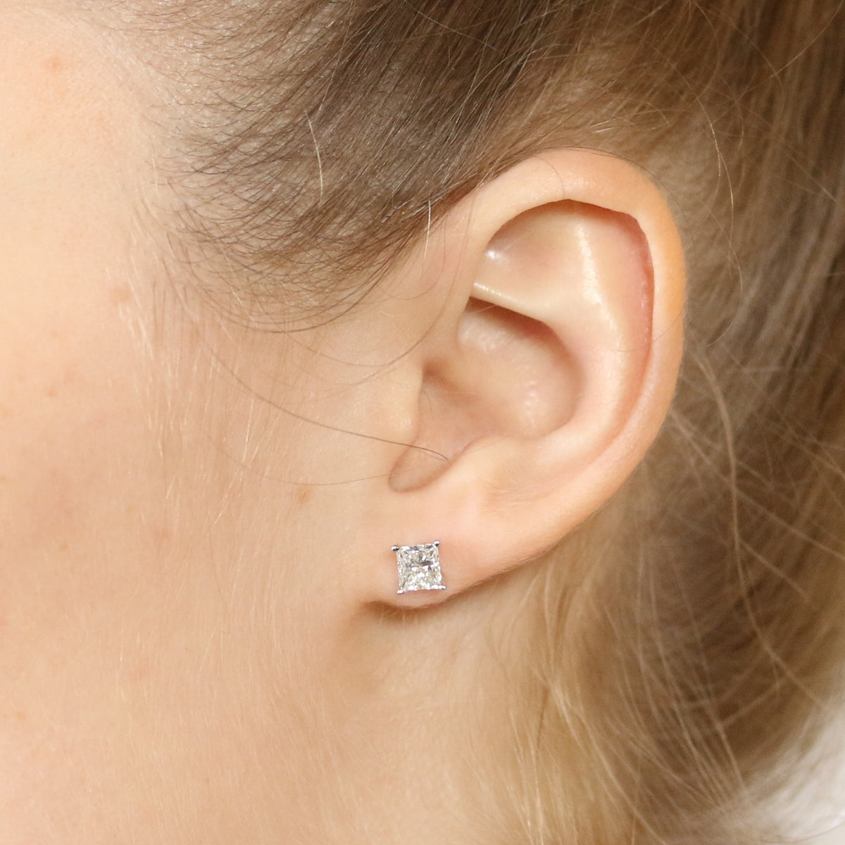 Diamond Stud Earrings 1.55ctw