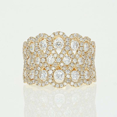 Diamond Infinity Ring 2.23ctw