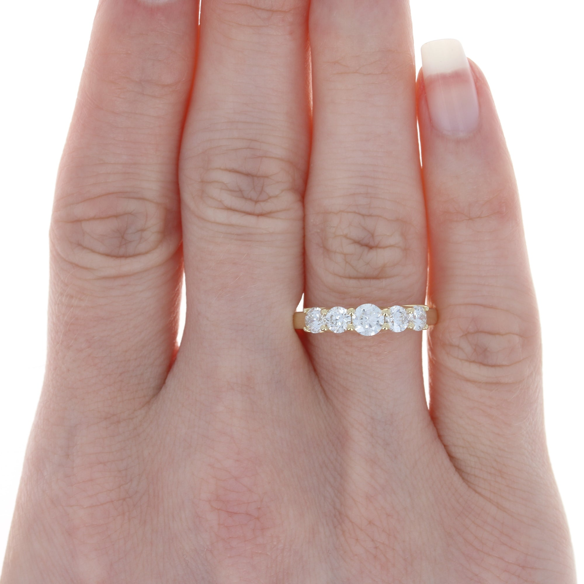 1.00ctw Diamond Ring Yellow Gold