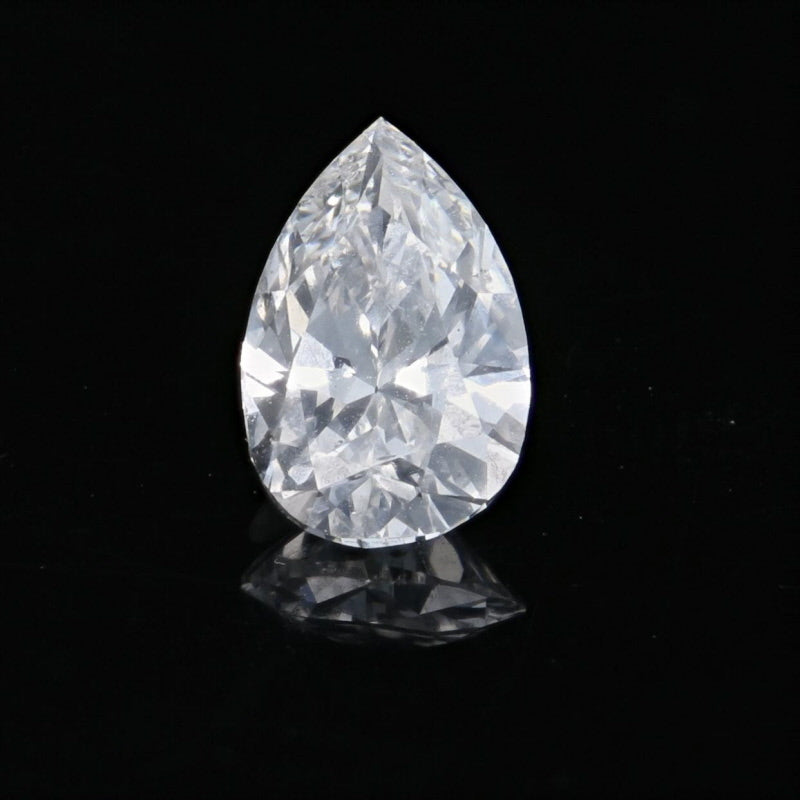 Pear Cut Loose Diamond .80ct GIA