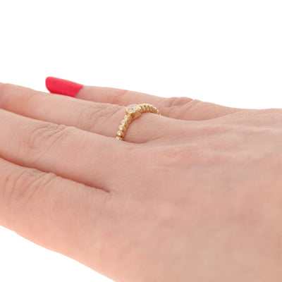 Yellow Gold Diamond Ring