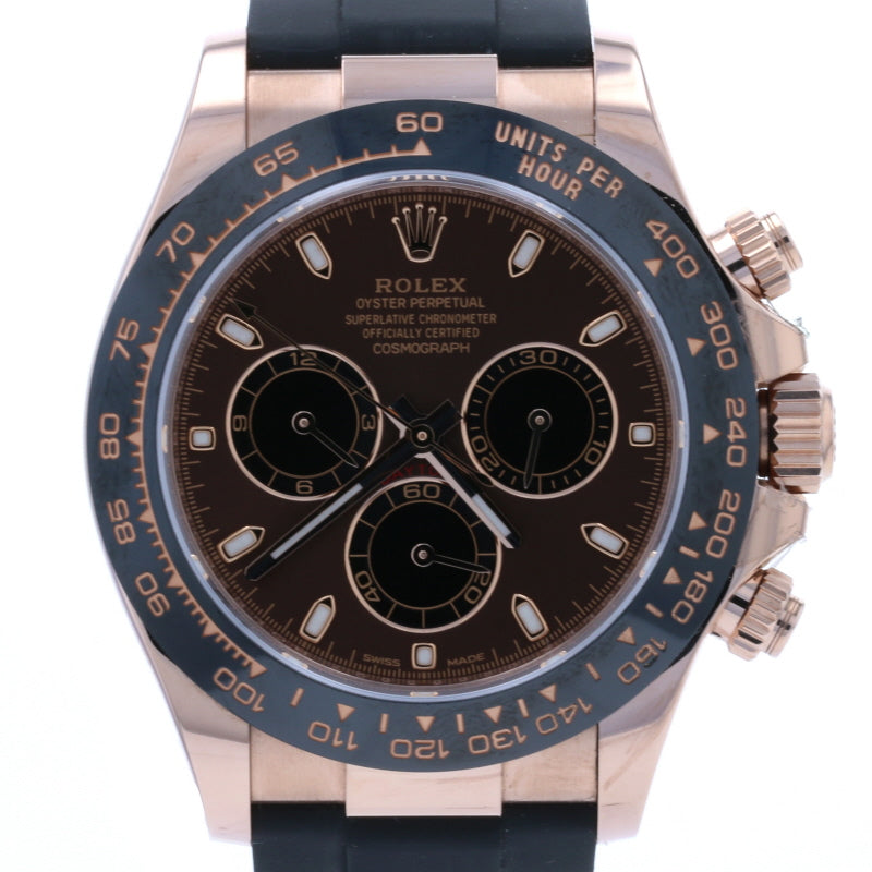Rolex Cosmograph Daytona Men's Wristwatch 116515LN 18k Gold 2020